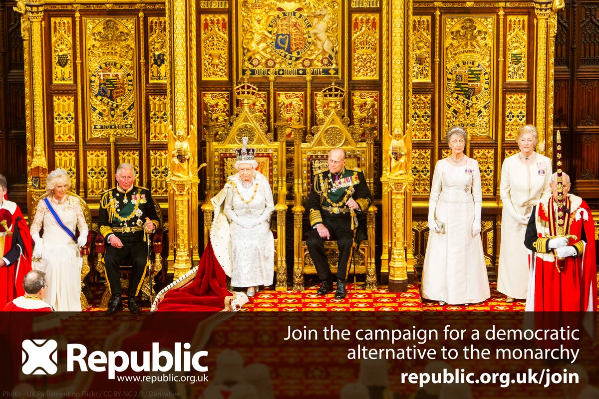 It's not her government, it's the elected government of the people. Time we elected our Head of State? #QueensSpeech https://t.co/Kx8gvXYiMB