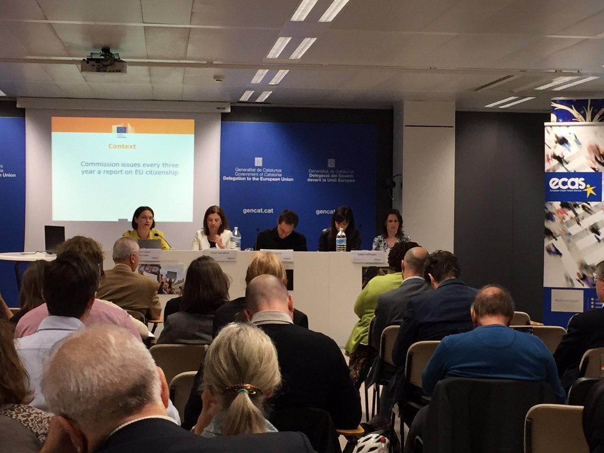 At the @ecas_europe conference in Brussels discussing 24 years of EU citizenship today #EUcitizenship24 #EURights https://t.co/fVI9T9jXF2