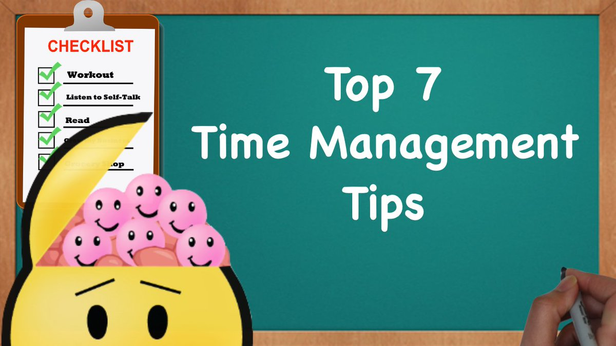 RT @aarontupaz: Want more productivity? Here are the Top 7 #TimeManagement Tips 😄 ► https://t.co/NX8IE7ORfO https://t.co/Ml4hVPicPC