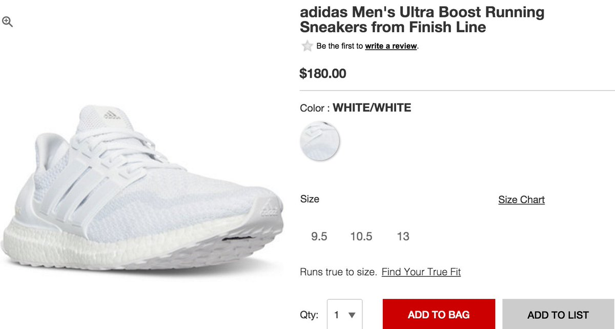 99e2650ce ... denmark sole links on twitter 2016 adidas ultra boost triple white  restocked in couple of sizes