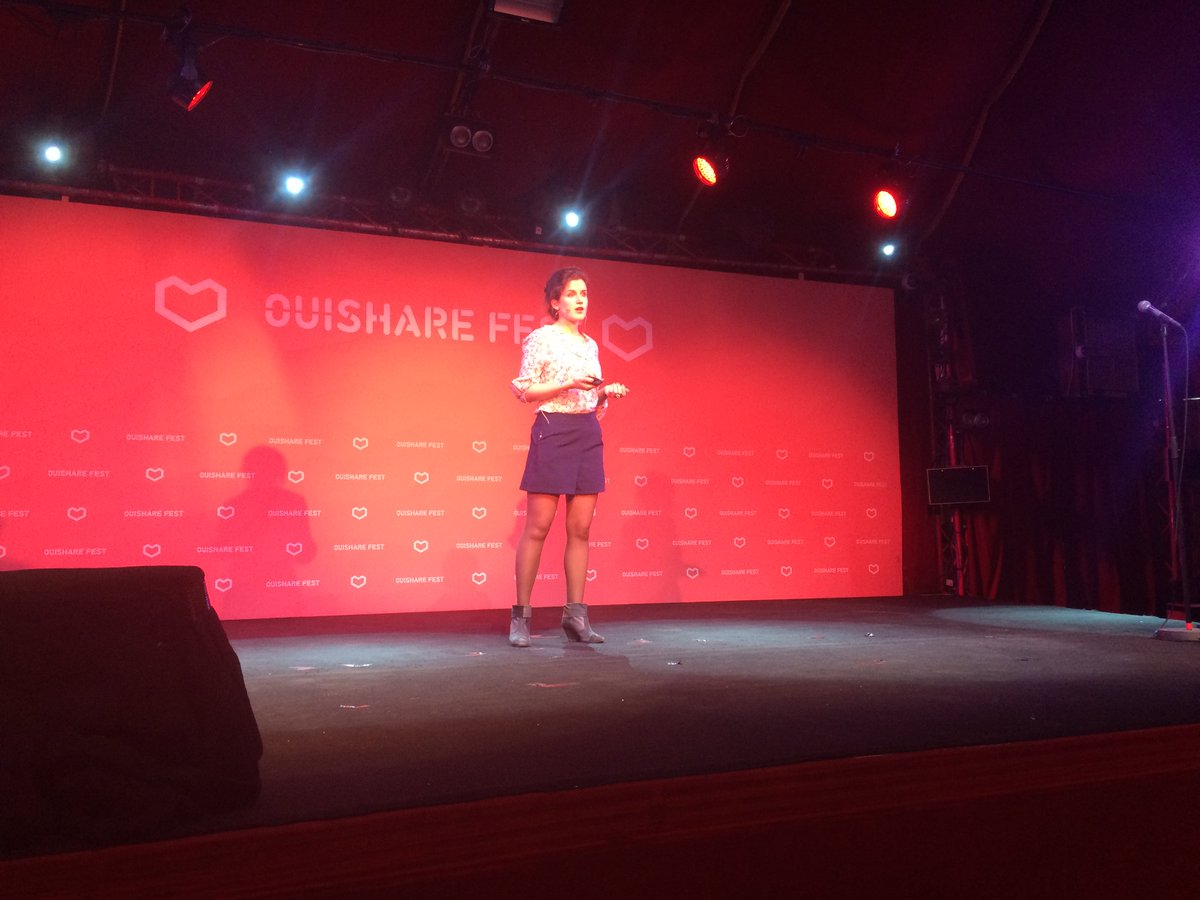 3 years after creating @OuiShareFest — @FloreBerlin back on stage to introduce the Zero Waste City! #OSFest16 https://t.co/1OCs7lWkXA