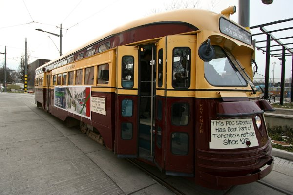 Starting this Sunday, and every Sunday this summer, ride the PCC streetcar on the 509 Harbourfront - fare-free! #TTC https://t.co/hOBnyeYqpK