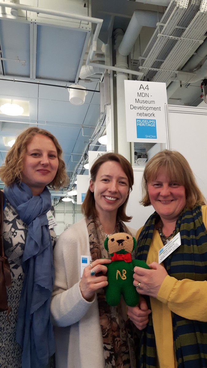 @CoffinWorks #NewmanBear with @WM_MuseumDev team at @MandHShow. Nice to see #Midlands friends today! https://t.co/COWT69xt9R