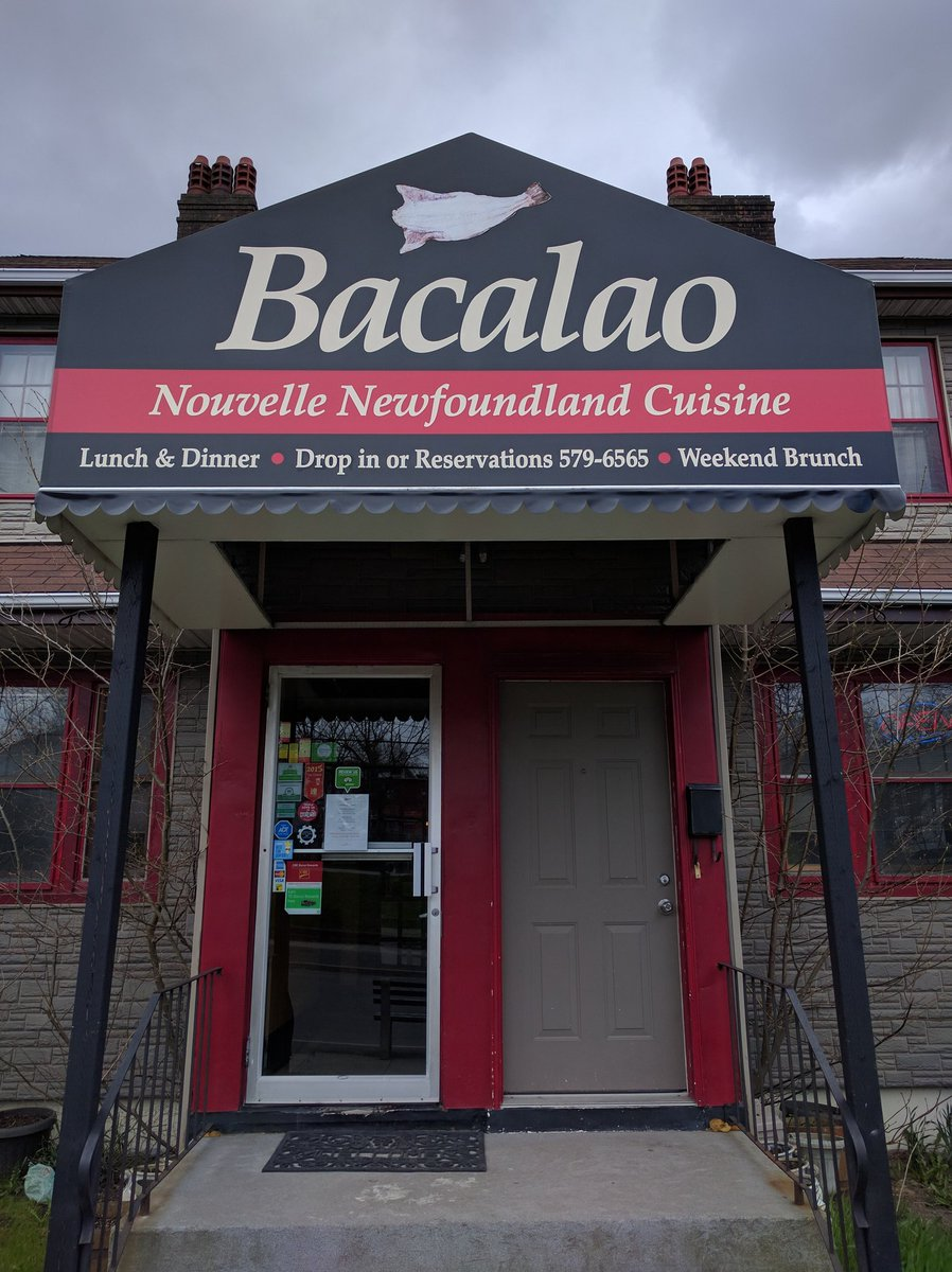 Entrance of Bacalao in St. John's, Newfoundland and Labrador