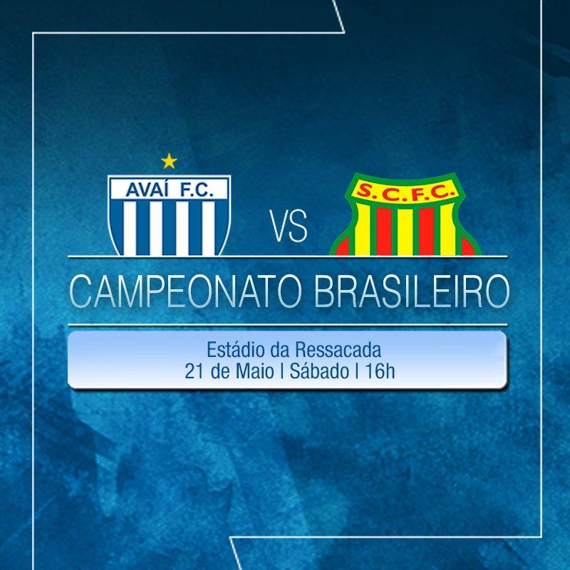 ⚽⚽Os times #Avaí e Sampaio Corrêa se enfrentam no #CampeonatoBrasileiro, dia 21 de Maio: https://t.co/jAHLyc0GVK⚽⚽ https://t.co/FuVTWljLo0