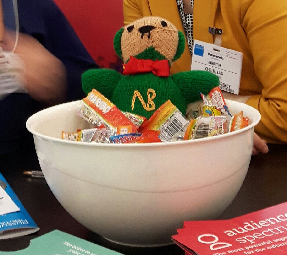 @CoffinWorks Here is #NewmanBear swimming in haribo. He was Very Happy about it. https://t.co/ud1RiDSjd3