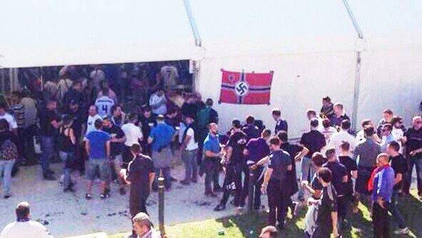 No és mal dia per recordar que un JUTGE va estimar que la bandera nazi a la fan zone del Madrid el 2014 era legal. https://t.co/hsX16Y98d7