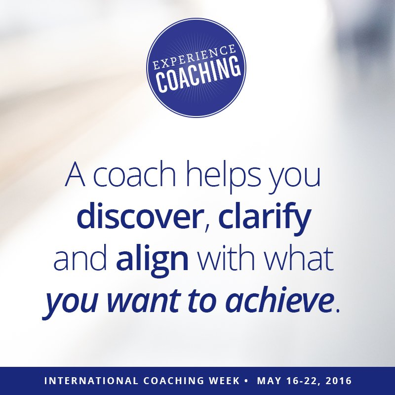Experience the power of coaching during International Coaching Week! #wisdomwednesday #ExperienceCoaching https://t.co/LLN7CxpE81