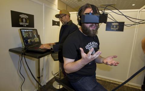 Virtual Reality Films Come to Cannes, Spielberg Sounds Warning