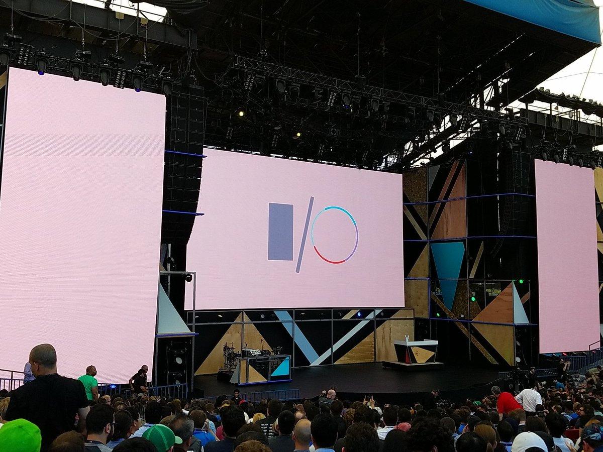 Google I/O 2016-Keynote: Here Are All the News [LIVE]