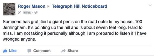 It's all kicking off in Telegraph Hill. https://t.co/6fGpvcfubf