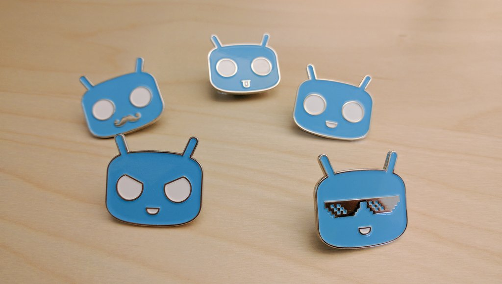Give them a name from the bottom right moving clockwise and we might send you a set of exclusive pins! #CyanogenMod https://t.co/eB5N58pAqg