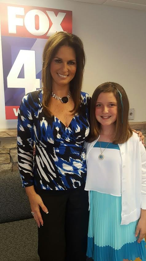 11yo morgan avery is @maryellenfox43 's weather kid today! watch