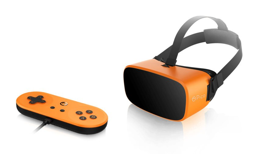 Pico Neo is a stand-alone VR headset that runs on Marshmallow