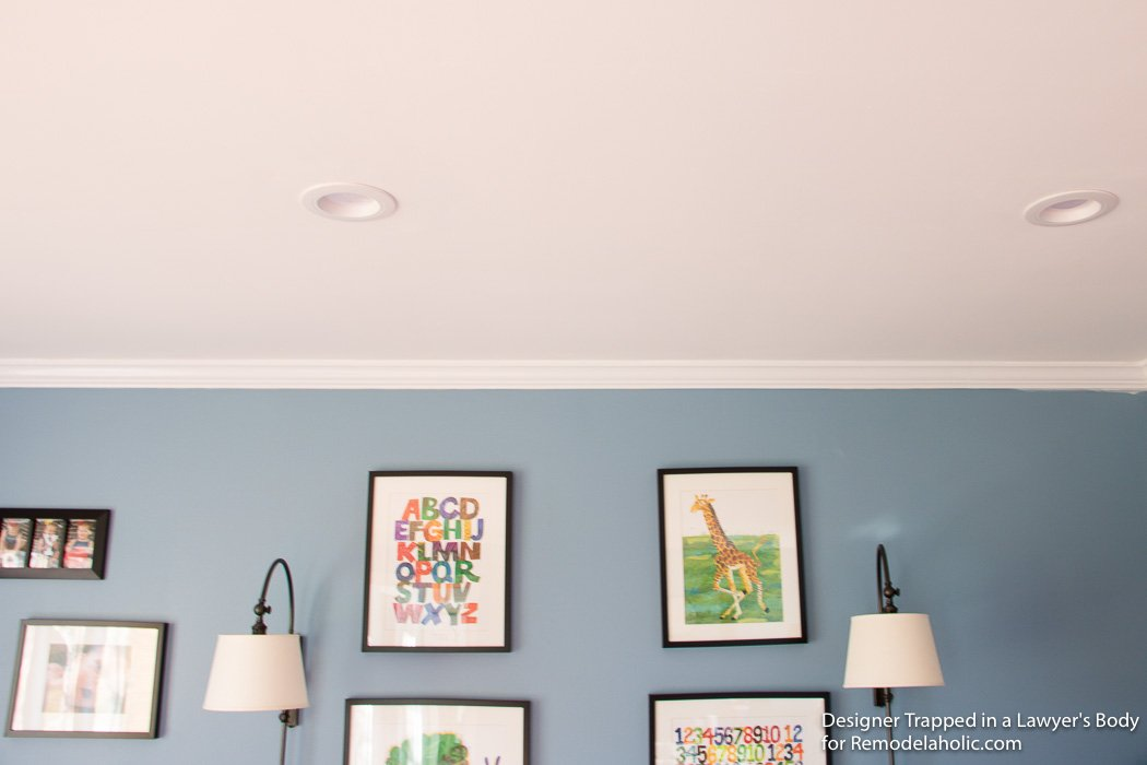 installing recessed lighting with attic access