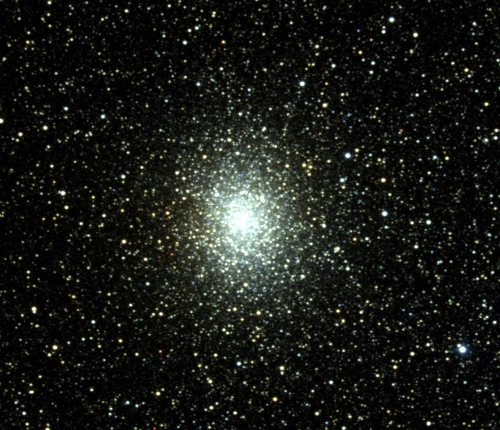 M19 - Globular Cluster in Ophiuchus not too far from the bright star Antares in Scorpius. Image: Doug Williams