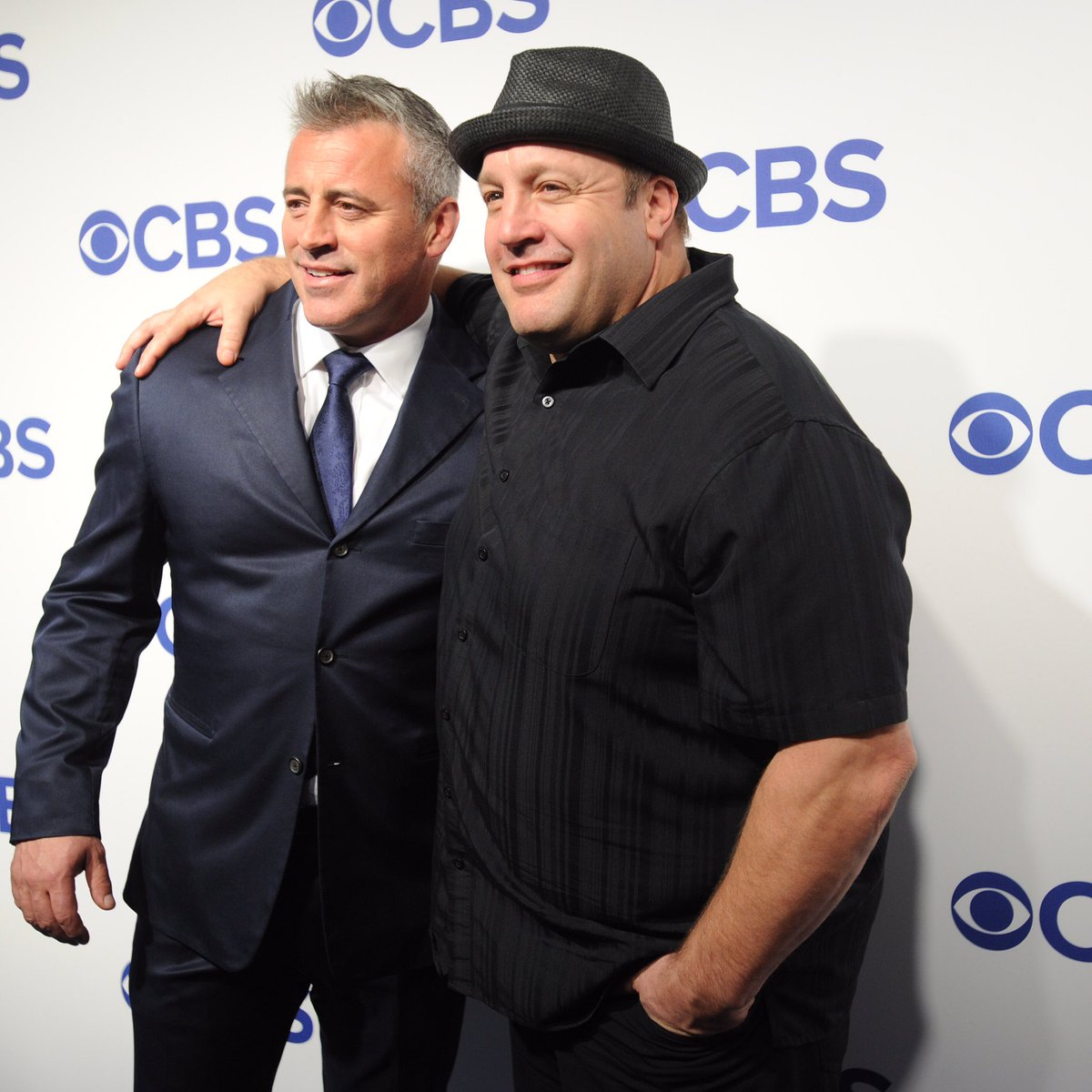 Kevin james matt le blanc looking jacked bodybuilding for How many kids does kevin james have