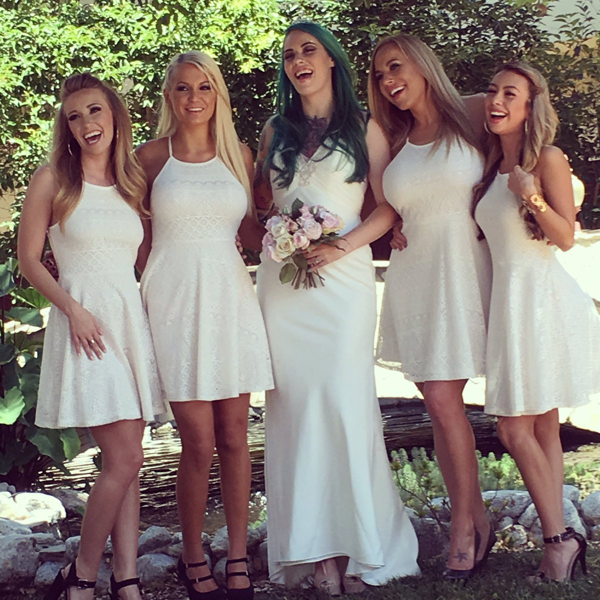 Bridal party orgy apologise, but