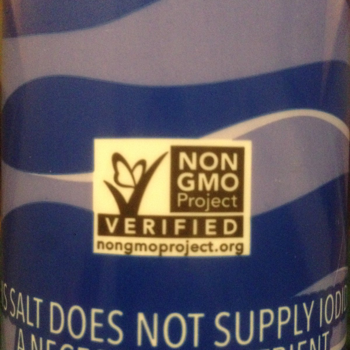 This salt is claimed to be non-GMO but I sequenced it and none of the reads mapped to the salt genome https://t.co/AuAEFmHPRM