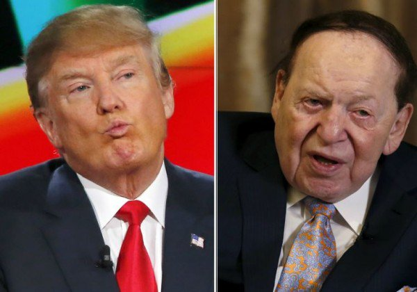 Trump Lands Adelson's Support