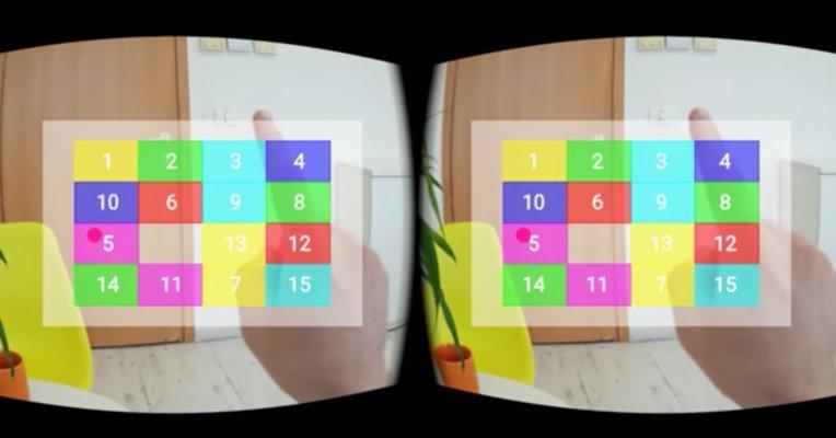 EyeSight demos VR gesture control using standard phone hardware