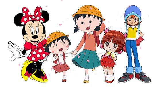 ミニーマウス、ちびまる子のお姉ちゃん、ブラックジャックのピノコ、デジモンの空。気づけば水谷優子さんの声で溢れてました。ご冥福をお祈りします。