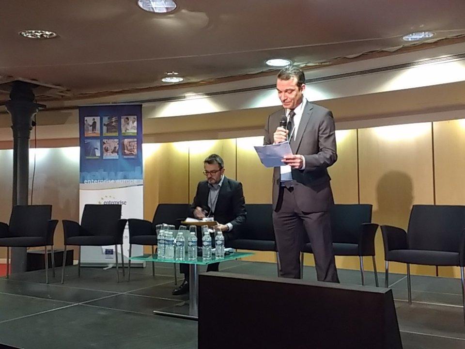 Thumbnail for [LiveTweet] 6ème Edition du Forum Europe « PME, pariez sur la propriété intellectuelle »