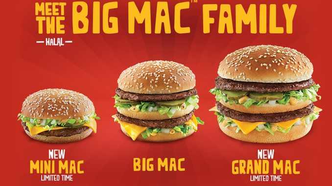 how much big mac in usa