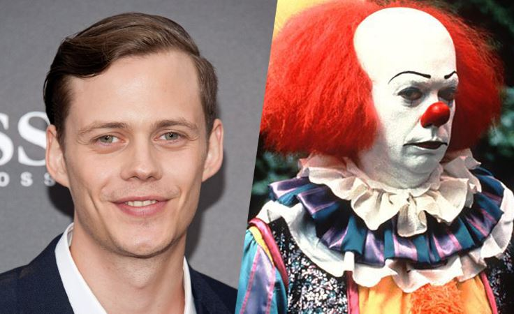 Bill Skarsgard Cast As Pennywise In Stephen King's IT 1