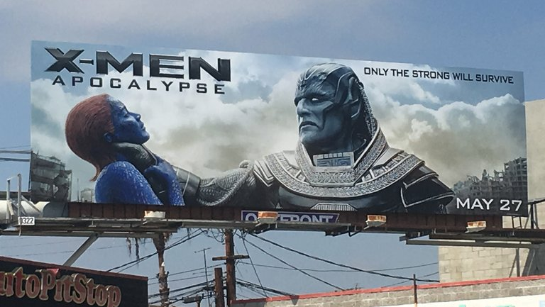 Never gonna make it to the movies this year ...ugh.  #notbuyingit #Sexistads #xMEN https://t.co/pHrn4Yzq4E