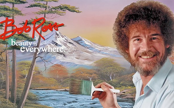 The best news of the summer: Bob Ross painting series now on Netflix