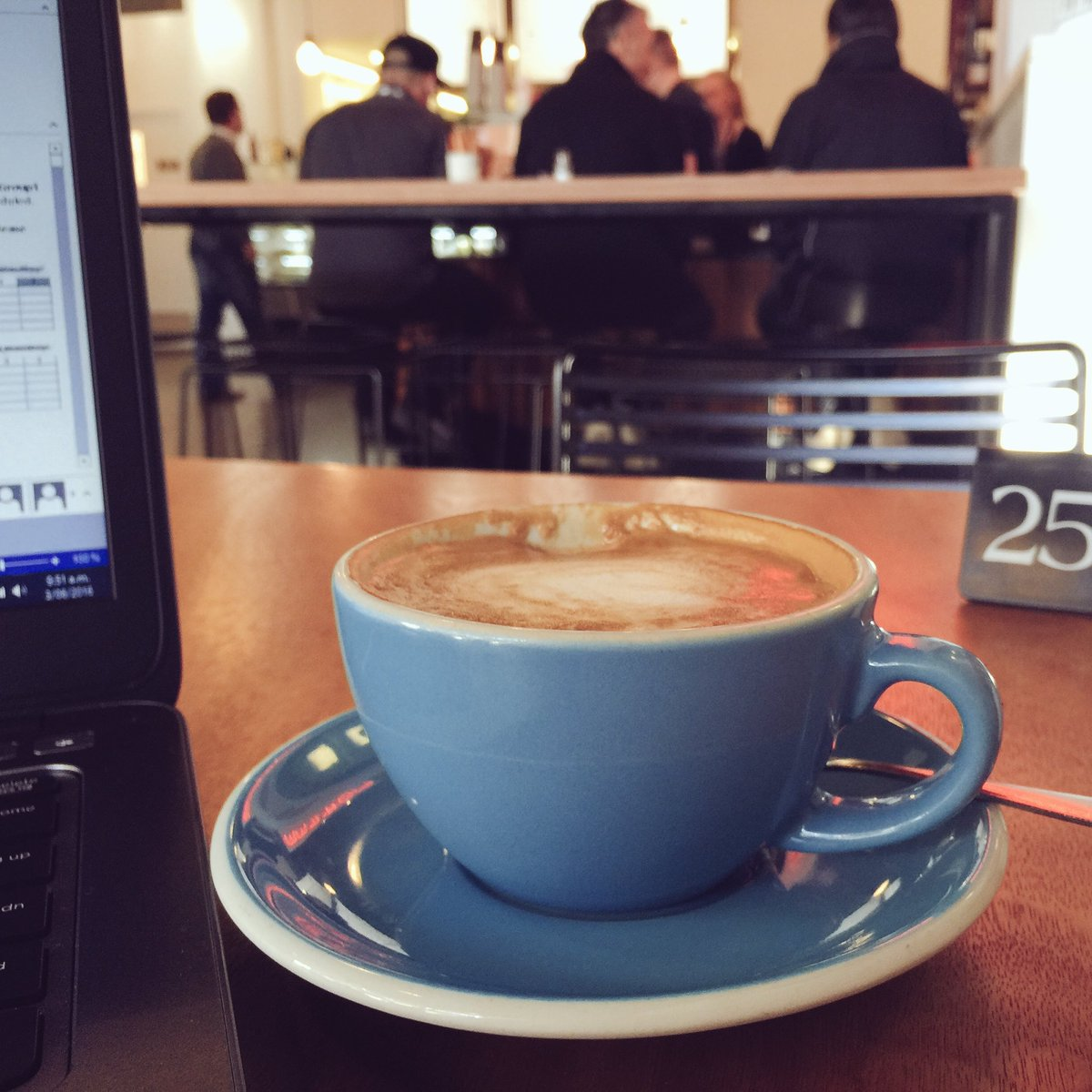 Today, working from home means working from one of my fav cafes in #lovethetron, Mr Miltons. https://t.co/Py1HfBm57c