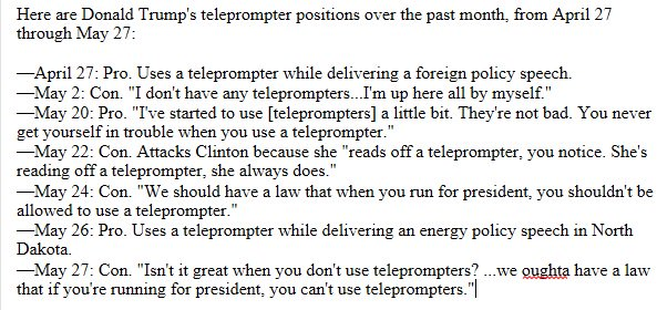 Trump's teleprompter positions: https://t.co/KwXYG7PXA8 https://t.co/pnnJbR7ZFj