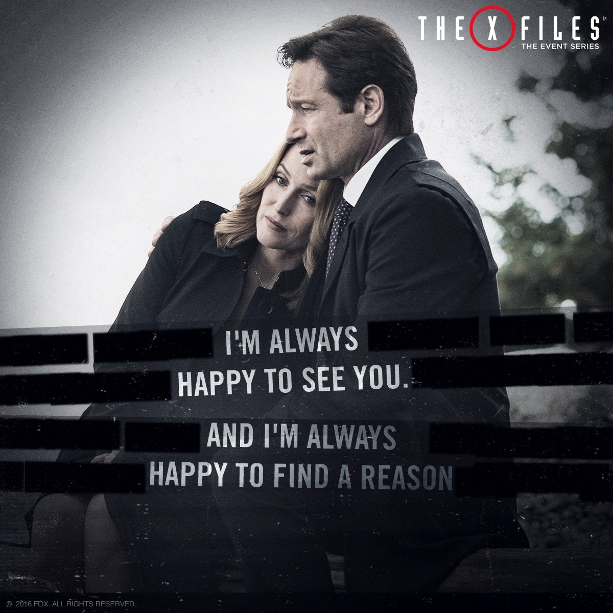"Quotes X Files The Xfiles On Twitter ""some Friends Are Always There When You"