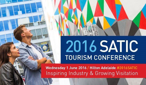 TODAY: #2016SATIC Tourism Conference @HiltonAdelaide https://t.co/1Jtmgt9Fgn