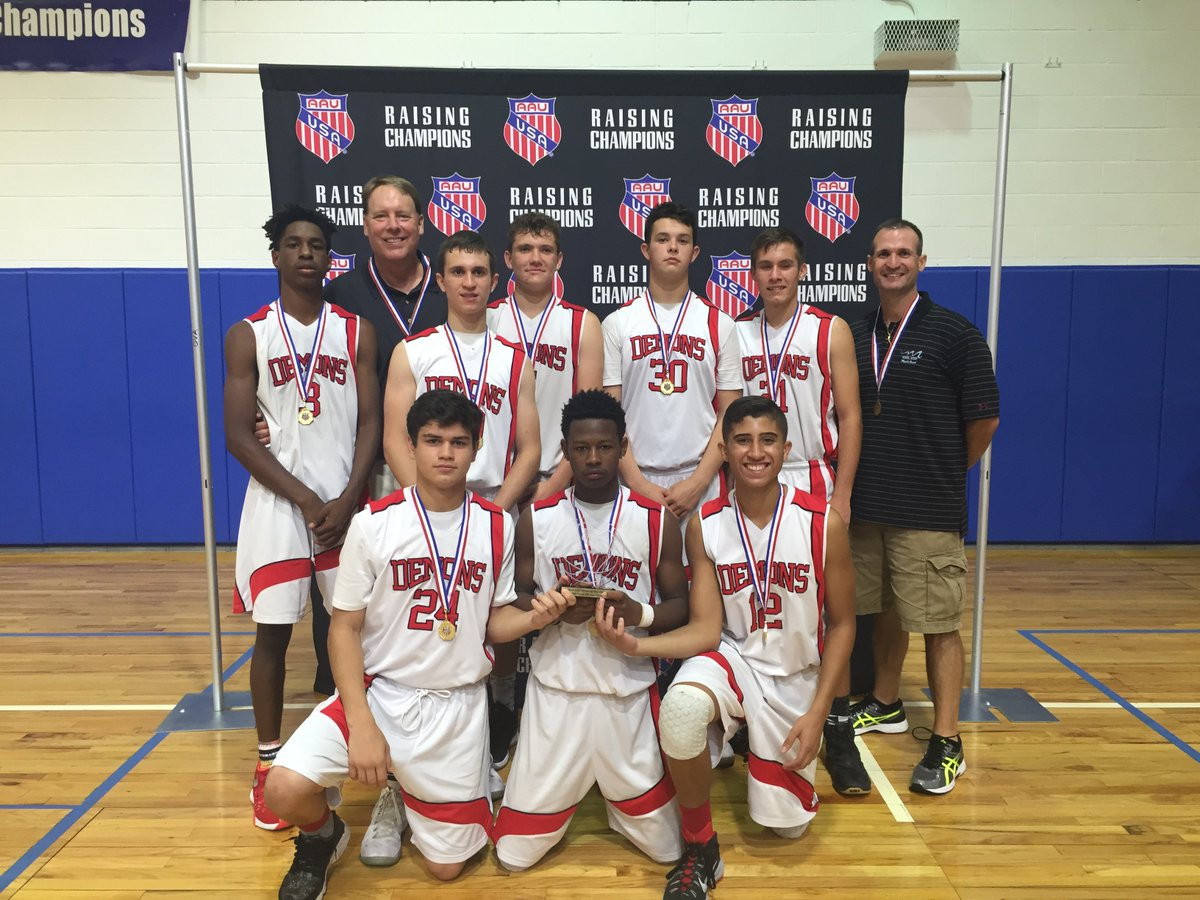 AAU Basketball On Twitter Congratulations To Demons Club Winning The 15U D2 Boys AAUMemorialDayClassic