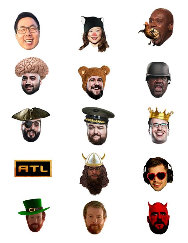 We released the sub emotes for our @twitch channel today. Love these. https://t.co/1npoa8aw5F
