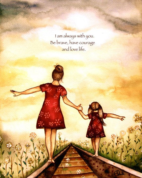 Joy Of Mom On Twitter I Am Always With You Be Brave Have Courage