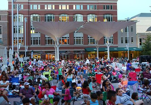 Tomorrow is Movie Night in @sundancesquare : ft. my Big Fat Greek Wedding! Check it out
