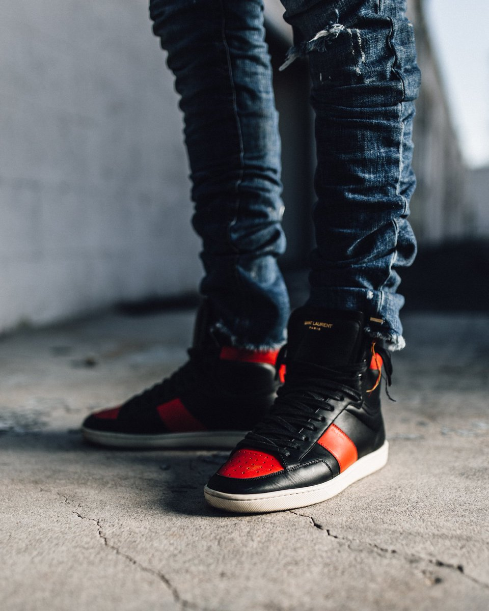 MadeByM3dic in the Saint Laurent 'Bred