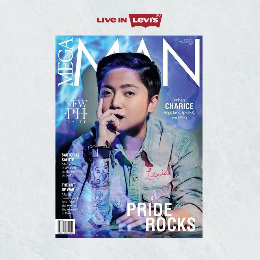 @OfficialCharice bares it all for the new cover of MEGA MAN Magazine with Levi's! #LiveInLevisPH https://t.co/p70XQLdaHI