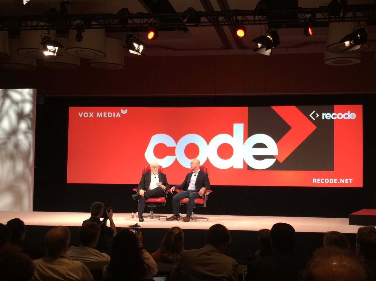 """If you don't want criticism don't do anything interesting with your life."" @JeffBezos at #codecon https://t.co/k7VwqK56Am"