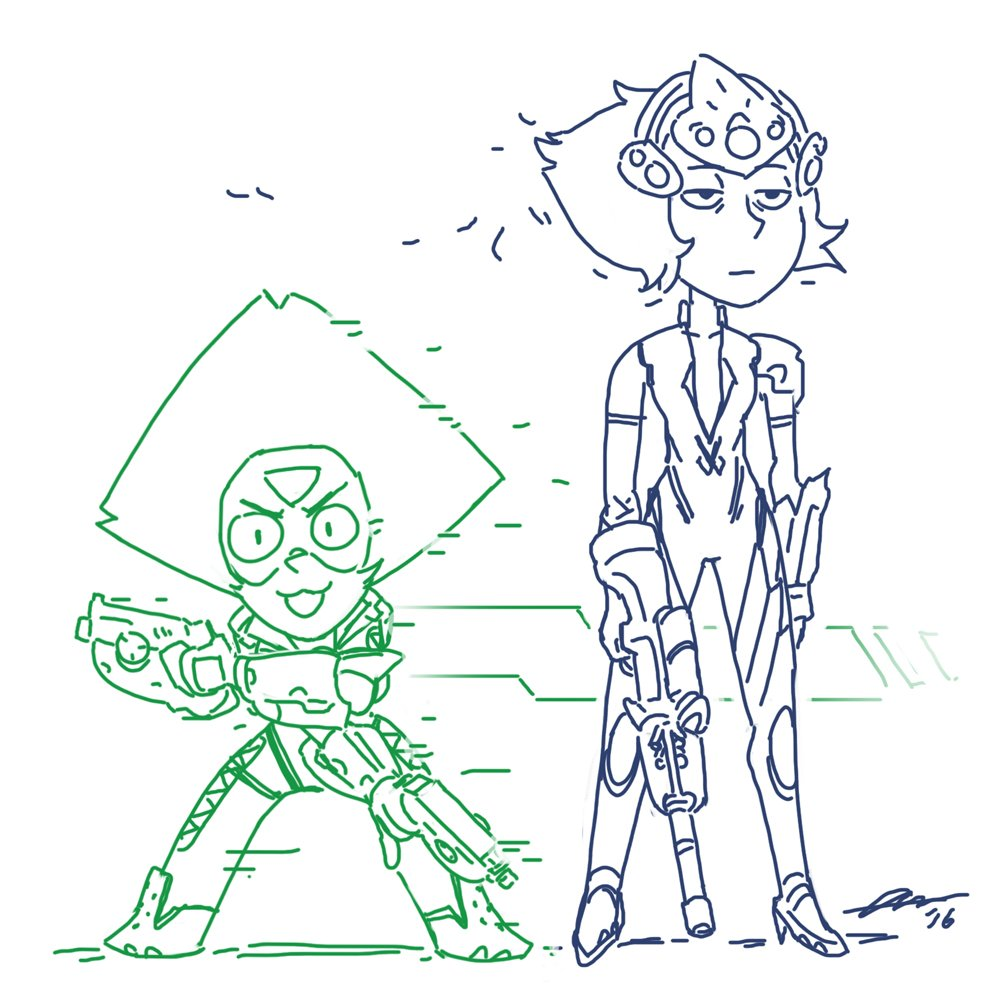 """Don't worry luv, the Crystal Clods' here!"""