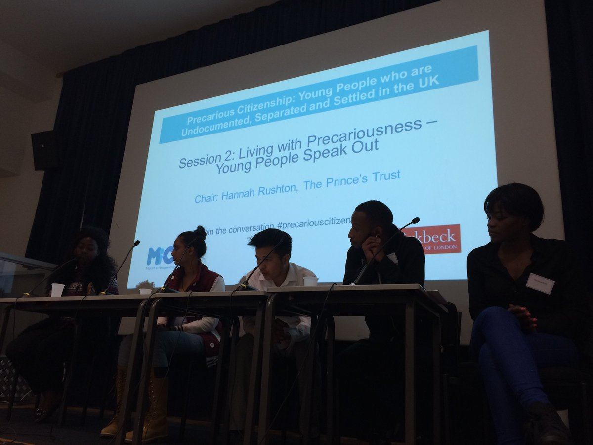 Powerful truths from young people living with precariousness #precariouscitizenship @bbkinstitutes https://t.co/PeSJtlkckE