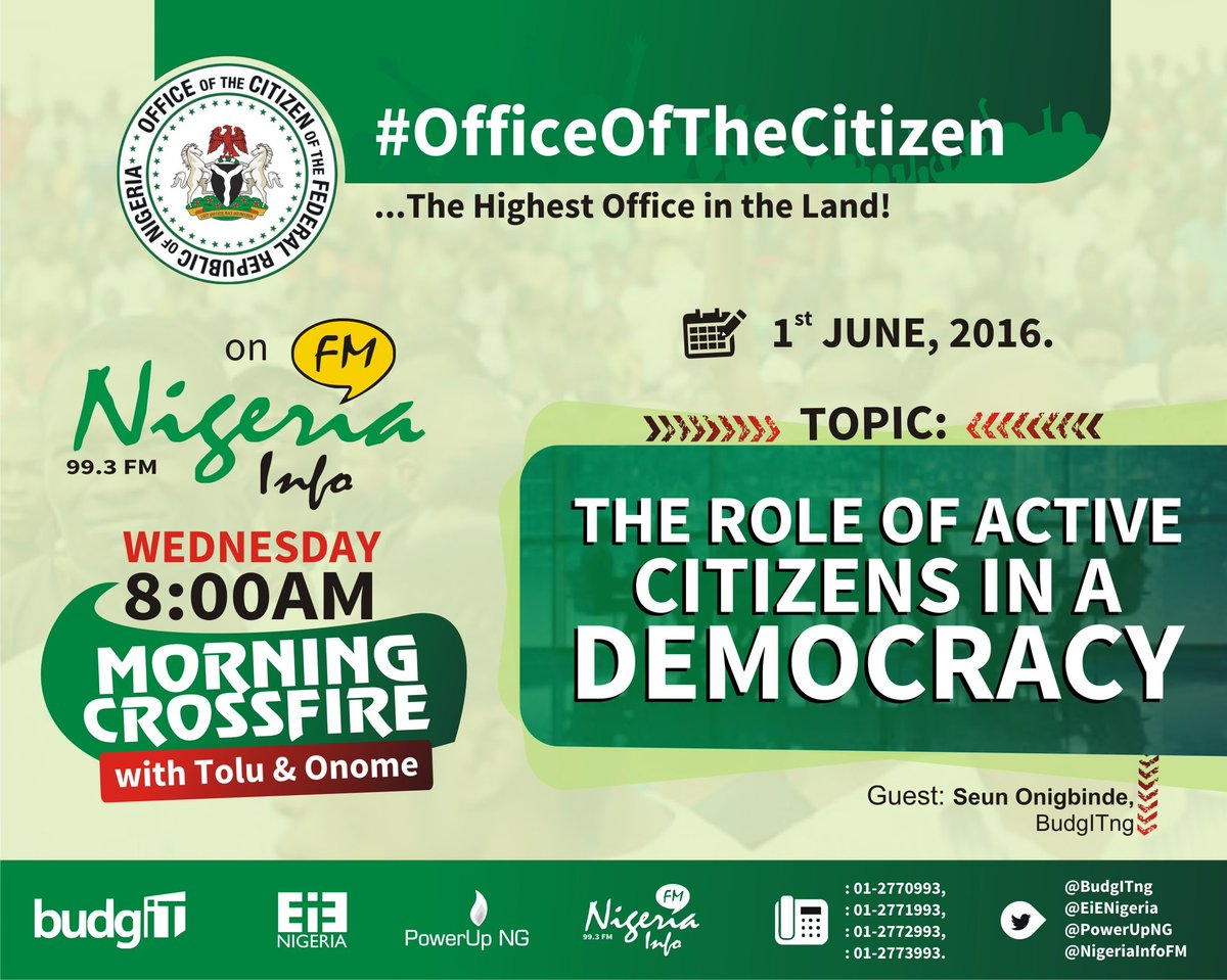 Thumbnail for #OfficeOfTheCitizen:  The Role of Active Citizens in a Democracy
