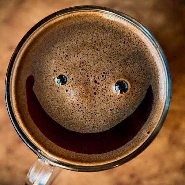 Надписью простой, картинки утро начинается с улыбки с кофе