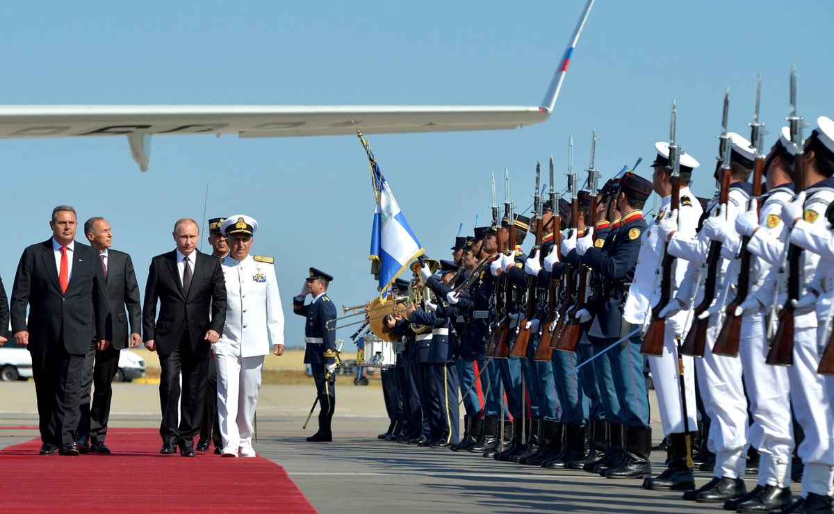 Thumbnail for Visit of President of Russia Vladimir Putin to Greece (May 27-28, 2016)
