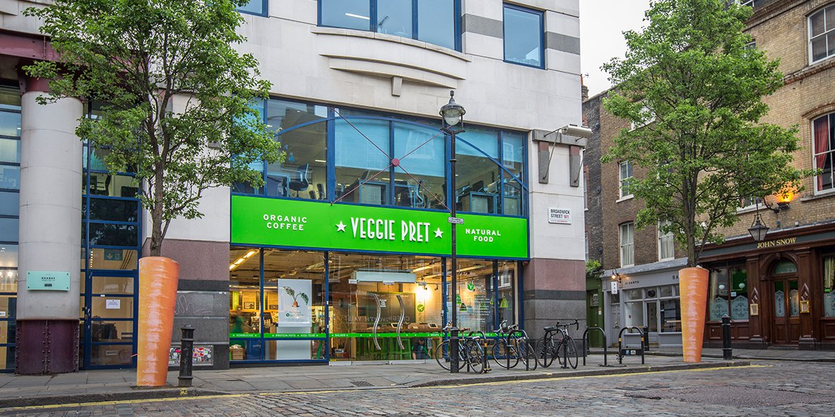 The doors of our little #VeggiePret Pop Up are now open! Pop in and tell us what you think. https://t.co/uOPfYwmc1Q https://t.co/LmmMqQYvYO