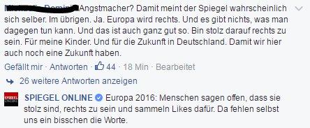 Europa 2016. Ohne Worte. #angstmacher
