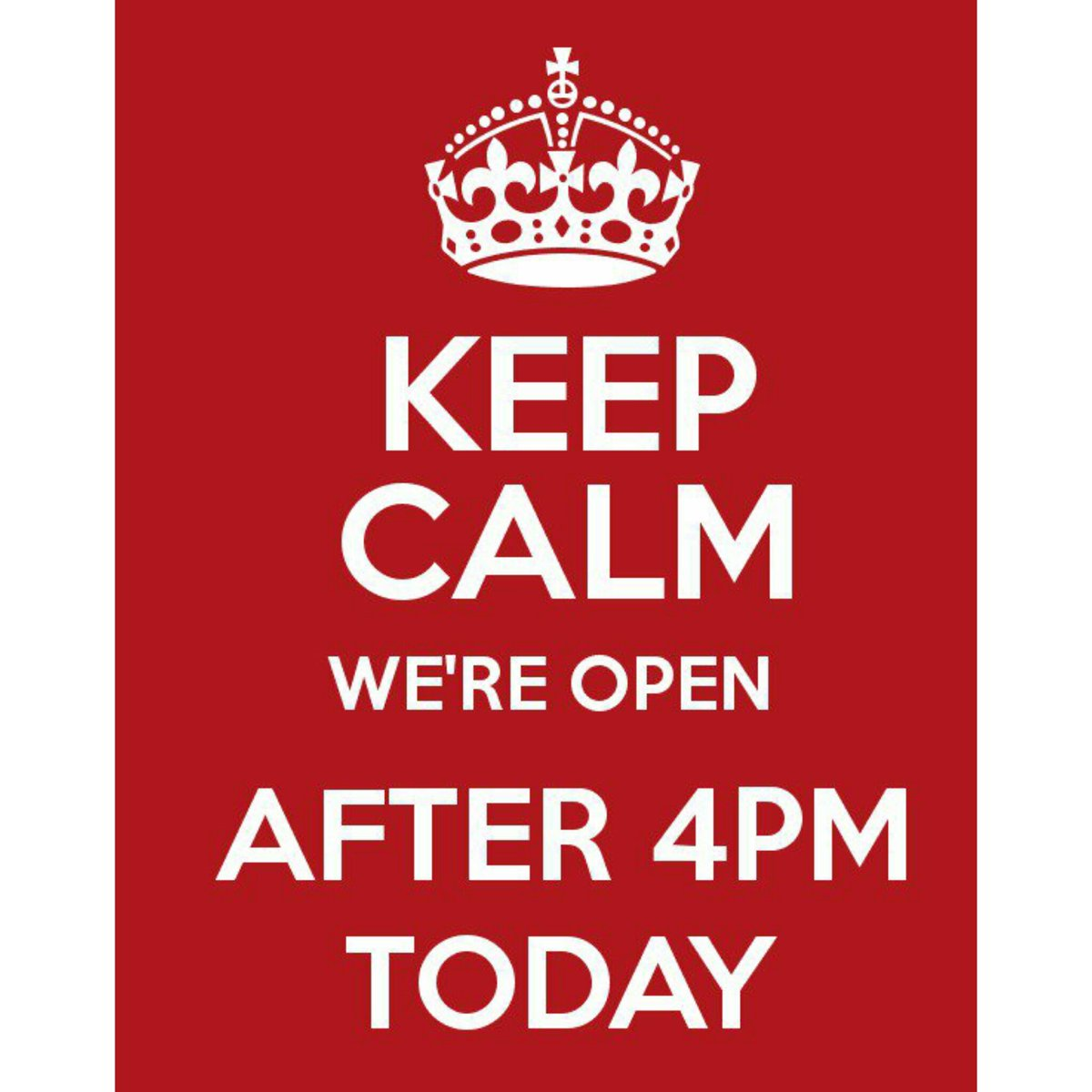 Amigo Home Improvements On Twitter Keep Calm We Are Open Today